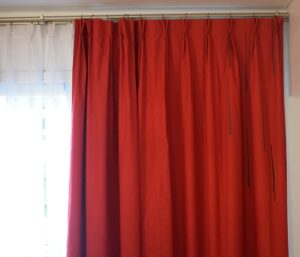 Cortinas black out con pellizcos x mts lineal