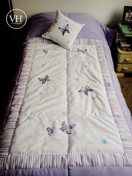 Acolchados Infantiles Veronica Home Mariposa