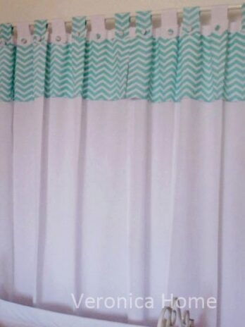 Cortinas chevron