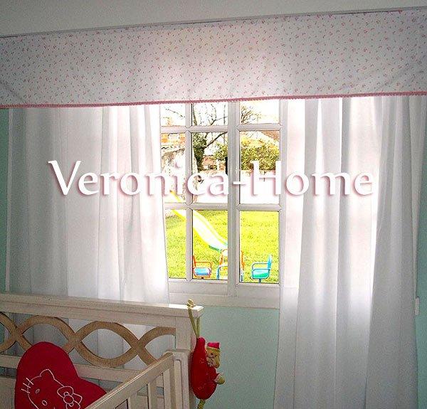 Cortina De Voilesfaldon Velcradoperfil Velcrado Para Techoriel - Cortinas-para-techo