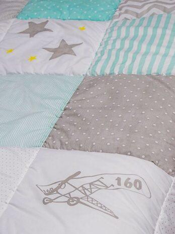 Acolchados diseñado por Vos para cuna funcional , cama de una plaza o plaza y media