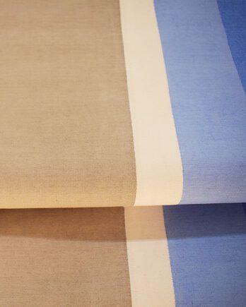 Cortinas Romanas Rayada x mts2  tonos celeste-gris