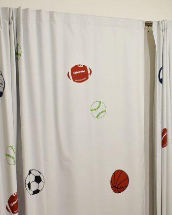 Cortinas Black Out Deportivo – Para Dormitorios y Salas de Juego