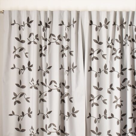 Cortinas Black out Textil hojas