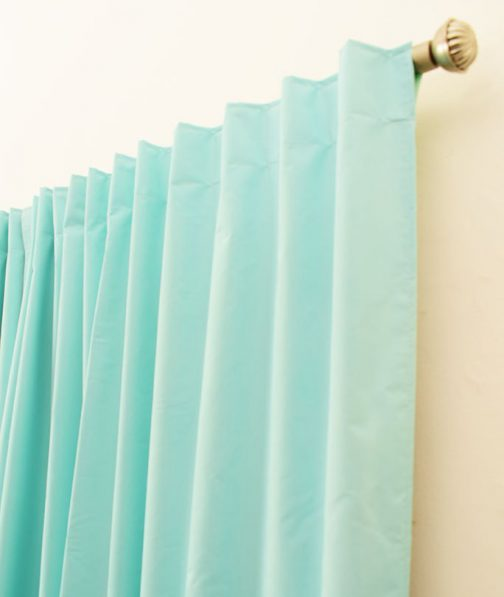 Cortinas Black out Aqua turquesa1