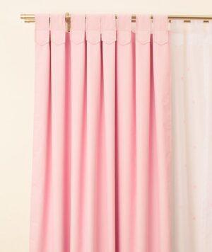 cortinas black out rosa pastel