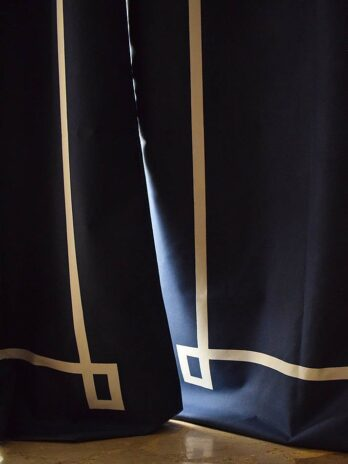 Cortinas Black Out Azul