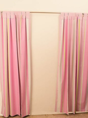 Cortinas black out Rosa Multicolor