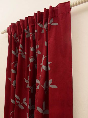 Cortinas black out  Bordo