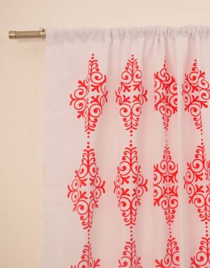 cortinas gross estampado